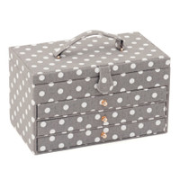 Grey Spot 3 draw Rectangle box Hobby Gift