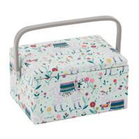 Llama Meduim sewing Box Hobby Gift
