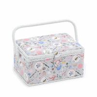 Homemade Medium sewing Box Hobby Gift