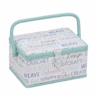 Haby Words Meduim sewing Box Hobby Gift