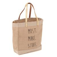 Must Make Stuff Craft Bag Hobby Gift