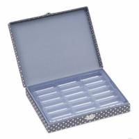 Grey Spot Thread Spool Storage Box Hobby Gift