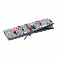 Chicken Stitch Knitting Pin Roll Hobby Gift