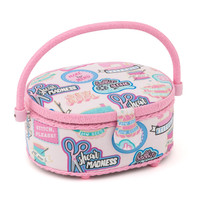 Sew cool Small Round sewing Box Hobby Gift