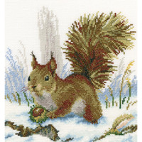 Winter Morning Cross Stitch Kit by RTO