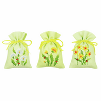 Counted Cross Stitch: Pot-Pourri Bag: Dandelions (Set of 3) By Vervaco