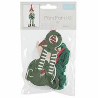 Pom Pom Decoration Kit: Elf