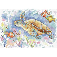 Ocean Colours Cross Stitch Kit by Mp Studia
