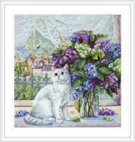 Spring Mood Cross Stitch Kit By Merejka