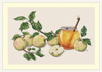 Honey Apples Cross Stitch Kit By Merejka