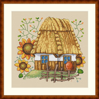 The House Cross Stitch Kit By Merejka