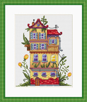 Spring House Cross Stitch Kit By  Merejka