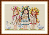 Friends Cross Stitch Kit By  Merejka
