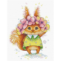 Ginger Friend Cross Stitch Kit by Mp Studia