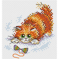 Adventurous Ginger Cross Stitch Kit by MP Studia