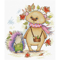 Autumn Spines Cross Stitch Kit by MP studia