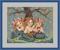 Mermaids Cross Stitch Kit by Merejka