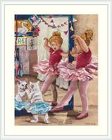 The Ballerinas Cross Stitch Kit By Merejka