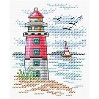 Light House Cross Stitch Kit by Mp Studia