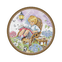 Fairy Garden Cross Stitch Kit By Merejka