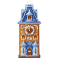 CLOCK TOWER cross stitch kit by Adriana