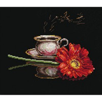 COFFEE FOR HER cross stitch kit by Andriana