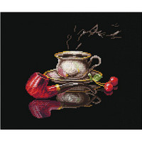 COFFEE FOR HIM cross stitch kit by Andriana