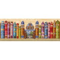 KINGDOM OF BOOKS cross stitch kit by Andriana