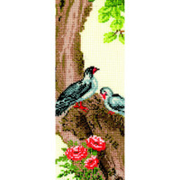 CHINESE MOTIFS PARTRIDGES cross stitch kit by Andriana