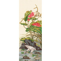 CHINESE MOTIFS. HERON cross stitch kit by Andriana