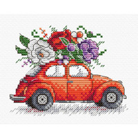 Journey To Paris Cross Stitch Kit by MP Studia