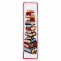 Counted Cross Stitch Kit: Bookmark: Books By Vervaco