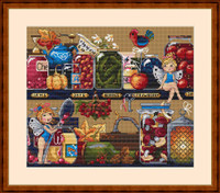 Pantry Treasures Cross Stitch Kit By Merejka