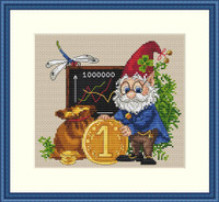 Million Cross Stitch Kit By Merejka