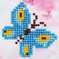 Diamond Painting Kit: Butterfly Sparkle