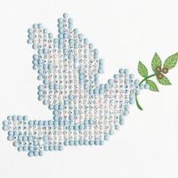 Diamond Painting Kit: Dove of Peace