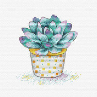 Succulent Splendour Cross Stitch Kit by MP studia