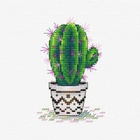 Fresh Cactus Cross Stitch Kit by MP studia