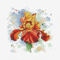 Passion Charm  Cross stitch kit By MP studia