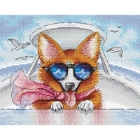 Living in Style  Cross Stitch Kit by MP studia
