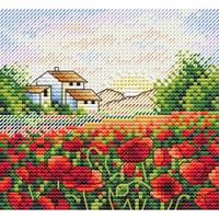 Poppy Morning Cross Stitch Kit by MP Studia