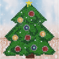 Diamond Painting Kit: Christmas Tree