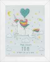 Counted Cross Stitch Kit: Magic Unicorn by Vervaco