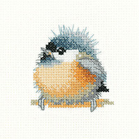 Cheepy Coaster Cross stitch Kit by  Hertiage