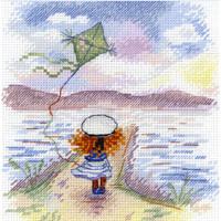 Follow the Dream Cross Stitch Kit by MP studia