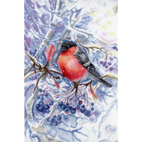 In the Snowing Forest Cross Stitch Kit by MP studia