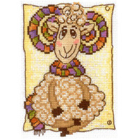 FASHIONABLE SCARF- Cross stitch kit by Andriana