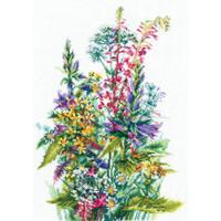 WILDFLOWERS-cross stitch kit by Andriana