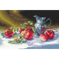 JUICY APPLES-cross stitch kit by Andriana