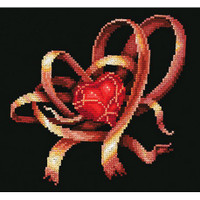 HEART FOR YOU-cross stitch kit by Andriana